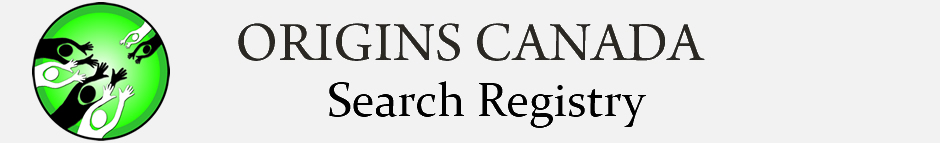 Origins Canada Adoption Search and Reunion Registry